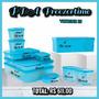 Tupperware® - Kit Bea Freezertime P/ Congelar 10pçs+ 50% Off Original