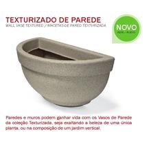 Vaso De Parede Texturizado 39 Ferrugem