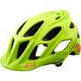 Capacete Fox Flux Fluo Yellow Ciclismo Bike Mtb L / Xl 2016