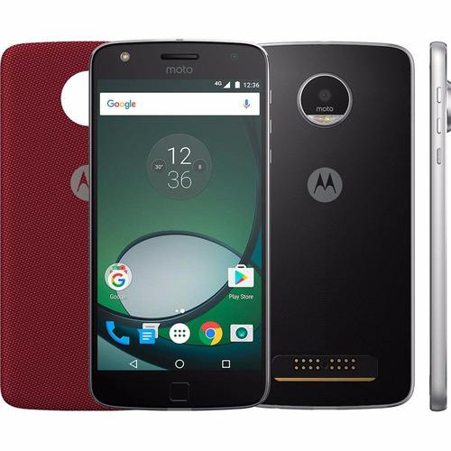 Smartphone Moto Z Play Com Tampa Jbl Produto Nacional Nf