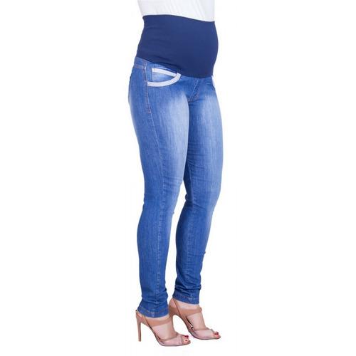 Calça Jeans Gestante Deise Skinny