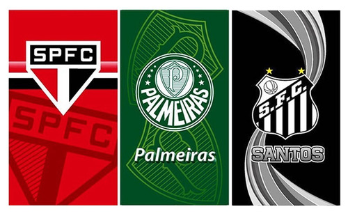 Pct C  4 Toalha Felpuda Futebol Buettner Times de930e5a98ca0