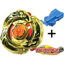 Beyblade Metal Fusion 4d L-drago Gold + 2 Super Lançadores