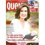 Revista Quem 772 De 2015 - Fátima Bernardes/juliana Paes