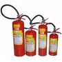 Extintor De Incendio Pó Abc 4 Kg Novo Com Suporte De Parede