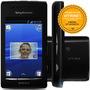 Sony Xperia X8 E15a 128mb Sing 3.2mp Mp3 Fm Preto Vitrine 1
