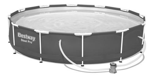 Piscina Estruturada 6.473l Steel Pro Frame Pool Set 3.66m