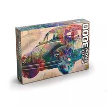 Puzzle (quebra-cabeça) 3000 Peças Vintage Car - Grow