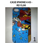 Capa Case Para Iphone 4 4s - 8,00
