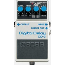 Pedal Boss Dd3 Digital Delay, Atacado Musical