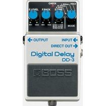 Pedal Boss Dd3 Digital Delay, Atacado Musical 11196