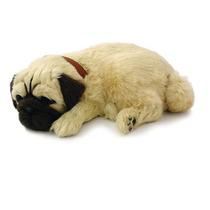Cachorro De Pelucia Que Respira Dormindo Pug Perfect Petzzz