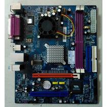Kit Placa Mãe Pc3000e+ (com Espelho) + Memória 2gb Ddr2