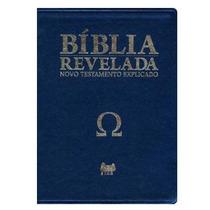 Bíblia Revelada Novo Testamento Di Nelson Ômega Azul