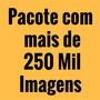 Pacote Com + De 250.000 Imagens Vetores Cdr Jpg Png Ps Eps