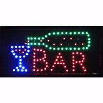 Placa De Led Letreiro Luminoso Bar 110v - Comercio