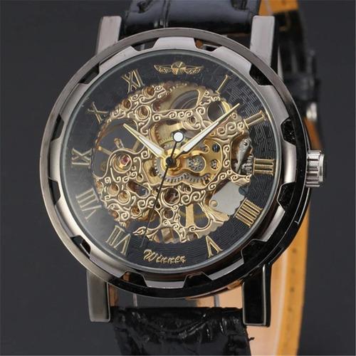 9ba5b52f285 Comprar Relógio Importado Winner Skeleton Mecânico Super Oferta. - Apenas  R  114