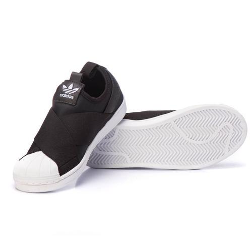 22588c9e66 Tenis adidas Superstar Slip On Original Preto Promoção