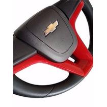 Volante Cruze Astra Vectra Meriva Montana Corsa Vermelho