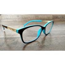 Armacao P/ Oculos Grau Fem. Pr Frete Gratis+brindes