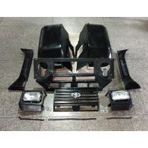 Paralama Dir/esq Toyota Bandeirante Kit Frontal Completo