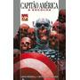 Hq Book Capa Dura Marvel Capitão América A Escolha Semi Novo