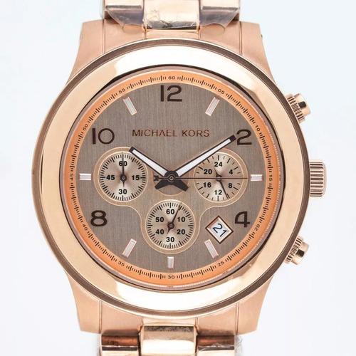 Relógio Michael Kors Mk5163 Rose Gold Original Oversize Novo c0ae084a6c