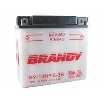 Bateria Moto 12 Volts Brandy By-n5.5l-b - Yamaha Rd Ybr