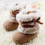 Sapatinho Botinha Bebê Feminino Outono Inverno Quente Menina