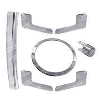 Kit Tuning Plastico Cromado - Fox 4 Portas
