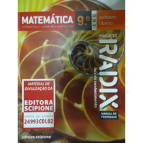 Livro Didático Matemática 9° Ano Projeto Radix