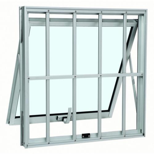 Janela Maxim - ar Sasazaki Alumínio Duplo Vertical Com Grade