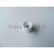 Suporte Prateleira Plástico Parafusar 10x15mm Branco (500 Pe