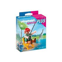 4779 Playmobil Special Plus Pescador Com Equipamentos