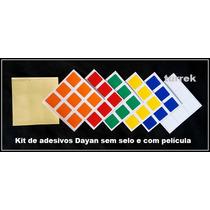 Adesivo Cubo Magico Stickers 3x3 P/ Rubik Dayan Envio Rapido