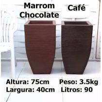 Kit Com 2 Vasos D Planta Ornamentais Rafia Buchinho 75x40 Cm