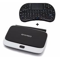Google Tv Box Quad Core Smart Tv Hdmi Wifi +teclado Wireless