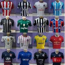 Busca camisas de times nacionais com os melhores preços do Brasil ... b37c3f44dcc77