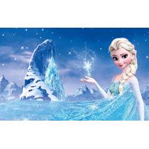 Painel Para Festa Aniversário Frozen Elsa Fr03