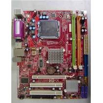 Placa Mãe 775 Pos-mig31ag Dual Core2 Duo/quad Veja Descrição