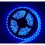Fita Led 3528 Prova Dágua Rolo 5 Metros 12v / 24w Azul
