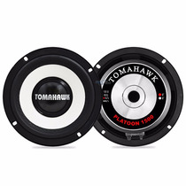 Par A Falante Mid Bass Tomahawk Platoon 6 150w Rms Kit Porta