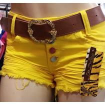 Shorts Colorido 100% Algodão.direto Da Fábrica Av.44 Goiânia