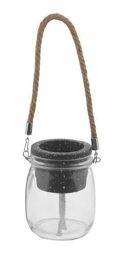 T-arrazzo Vaso Autoirrigável Preto/natural