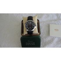Relógio Masculino Fossil Mod. Cn 59x0113- Couro Legitimo