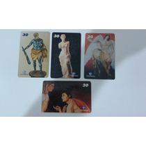Cartões Telefônicos Série Mitologia Grega - 10/2001 - Raros!