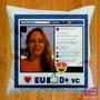 Almofadas Personalizadas Com Foto E Enchimento (travesseiro)