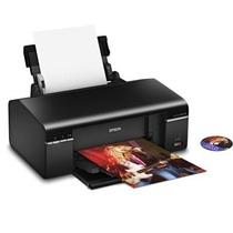 Impressora Epson T50 + Bulk + 1200ml Tinta Impr Cd/dvd C/ Nf