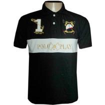 Camisa Polo Play Preta