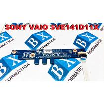 Placa Power On Off Sony Vaio Sve141d11x Da0hk6pi6d0 Rev: D